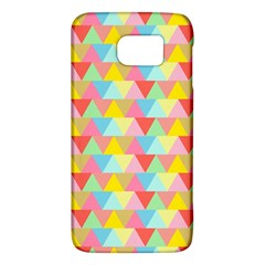 Triangle Pattern Samsung Galaxy S6 Hardshell Case