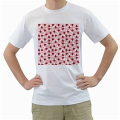 Spot the Ladybug Men s Two-sided T-shirt (White)