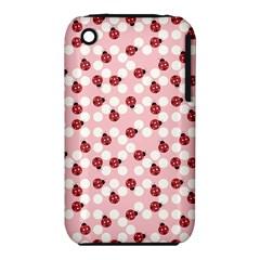 Spot the Ladybug Apple iPhone 3G/3GS Hardshell Case (PC+Silicone)