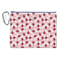 Spot the Ladybug Canvas Cosmetic Bag (XXL)