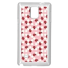 Spot the Ladybug Samsung Galaxy Note 4 Case (White)