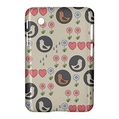 Love Birds Samsung Galaxy Tab 2 (7 ) P3100 Hardshell Case