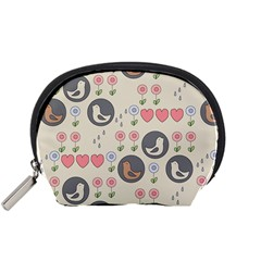 Love Birds Accessory Pouch (Small)
