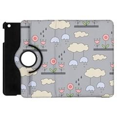 Garden In The Sky Apple Ipad Mini Flip 360 Case