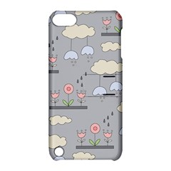Garden In The Sky Apple Ipod Touch 5 Hardshell Case With Stand