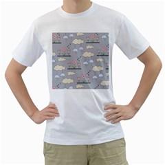 Garden In The Sky Men s T Shirt (white)