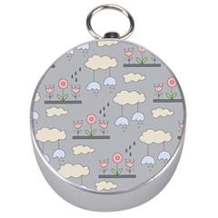 Garden In The Sky Silver Compass