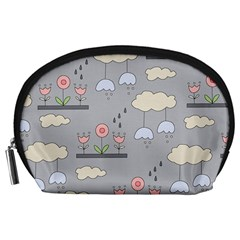 Garden in the Sky Accessory Pouch (Large)