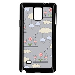 Garden in the Sky Samsung Galaxy Note 4 Case (Black)