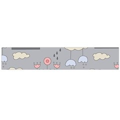 Garden In The Sky Flano Scarf (large)