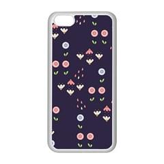 Summer Garden Apple iPhone 5C Seamless Case (White)