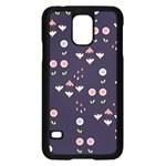 Summer Garden Samsung Galaxy S5 Case (Black) Front