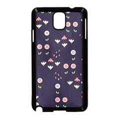 Summer Garden Samsung Galaxy Note 3 Neo Hardshell Case (Black)