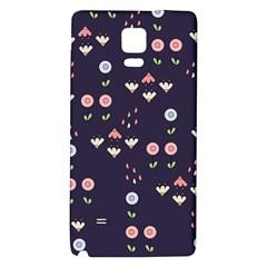 Summer Garden Samsung Note 4 Hardshell Back Case