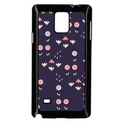 Summer Garden Samsung Galaxy Note 4 Case (Black)