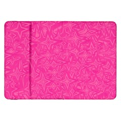 Abstract Stars In Hot Pink Samsung Galaxy Tab 8 9  P7300 Flip Case