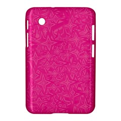 Abstract Stars In Hot Pink Samsung Galaxy Tab 2 (7 ) P3100 Hardshell Case