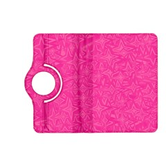 Abstract Stars In Hot Pink Kindle Fire HD (2013) Flip 360 Case