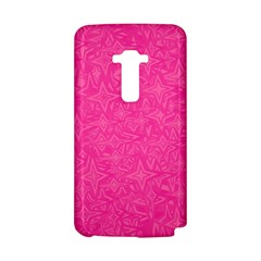 Abstract Stars In Hot Pink LG G Flex D958 Hardshell Case