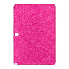 Abstract Stars In Hot Pink Samsung Galaxy Tab Pro 10.1 Hardshell Case