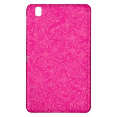 Abstract Stars In Hot Pink Samsung Galaxy Tab Pro 8.4 Hardshell Case
