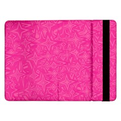 Abstract Stars In Hot Pink Samsung Galaxy Tab Pro 12.2  Flip Case