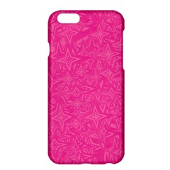 Abstract Stars In Hot Pink Apple Iphone 6 Plus Hardshell Case