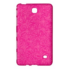Abstract Stars In Hot Pink Samsung Galaxy Tab 4 (7 ) Hardshell Case