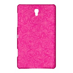 Abstract Stars In Hot Pink Samsung Galaxy Tab S (8 4 ) Hardshell Case