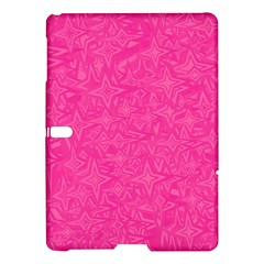 Abstract Stars In Hot Pink Samsung Galaxy Tab S (10.5 ) Hardshell Case