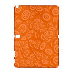 Orange Abstract 45s Samsung Galaxy Note 10 1 (p600) Hardshell Case
