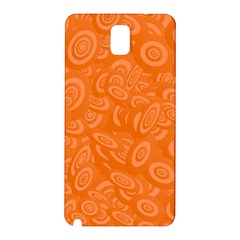 Orange Abstract 45s Samsung Galaxy Note 3 N9005 Hardshell Back Case