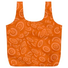 Orange Abstract 45s Reusable Bag (XL)