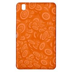 Orange Abstract 45s Samsung Galaxy Tab Pro 8 4 Hardshell Case