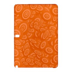 Orange Abstract 45s Samsung Galaxy Tab Pro 12.2 Hardshell Case