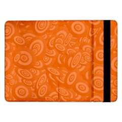 Orange Abstract 45s Samsung Galaxy Tab Pro 12.2  Flip Case