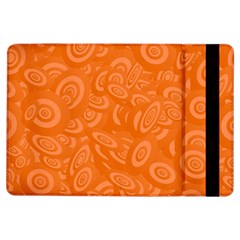 Orange Abstract 45s Apple iPad Air Flip Case