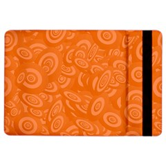 Orange Abstract 45s Apple iPad Air 2 Flip Case
