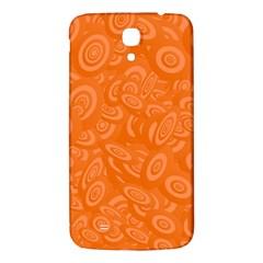 Orange Abstract 45s Samsung Galaxy Mega I9200 Hardshell Back Case