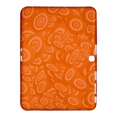 Orange Abstract 45s Samsung Galaxy Tab 4 (10 1 ) Hardshell Case