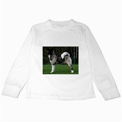 Akita Full Kids Long Sleeve T-Shirt