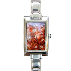 Star Dream Rectangular Italian Charm Watch
