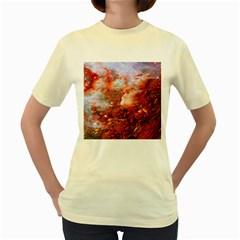 Star Dream Women s T Shirt (yellow)