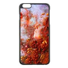 Star Dream Apple iPhone 6 Plus Black Enamel Case