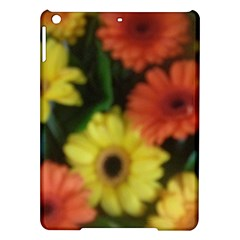 Orange Yellow Daisy Flowers Gerbera Apple iPad Air Hardshell Case