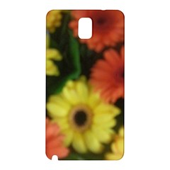 Orange Yellow Daisy Flowers Gerbera Samsung Galaxy Note 3 N9005 Hardshell Back Case