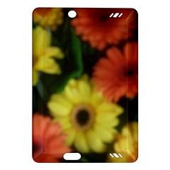 Orange Yellow Daisy Flowers Gerbera Kindle Fire HD (2013) Hardshell Case