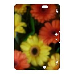 Orange Yellow Daisy Flowers Gerbera Kindle Fire Hdx 8 9  Hardshell Case