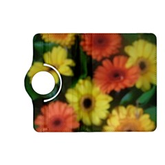 Orange Yellow Daisy Flowers Gerbera Kindle Fire HD (2013) Flip 360 Case