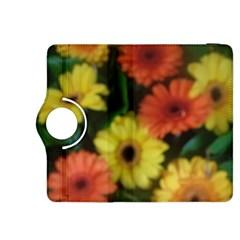 Orange Yellow Daisy Flowers Gerbera Kindle Fire Hdx 8 9  Flip 360 Case